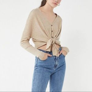 JoJo Thermal Waffle Button Top Out From Under